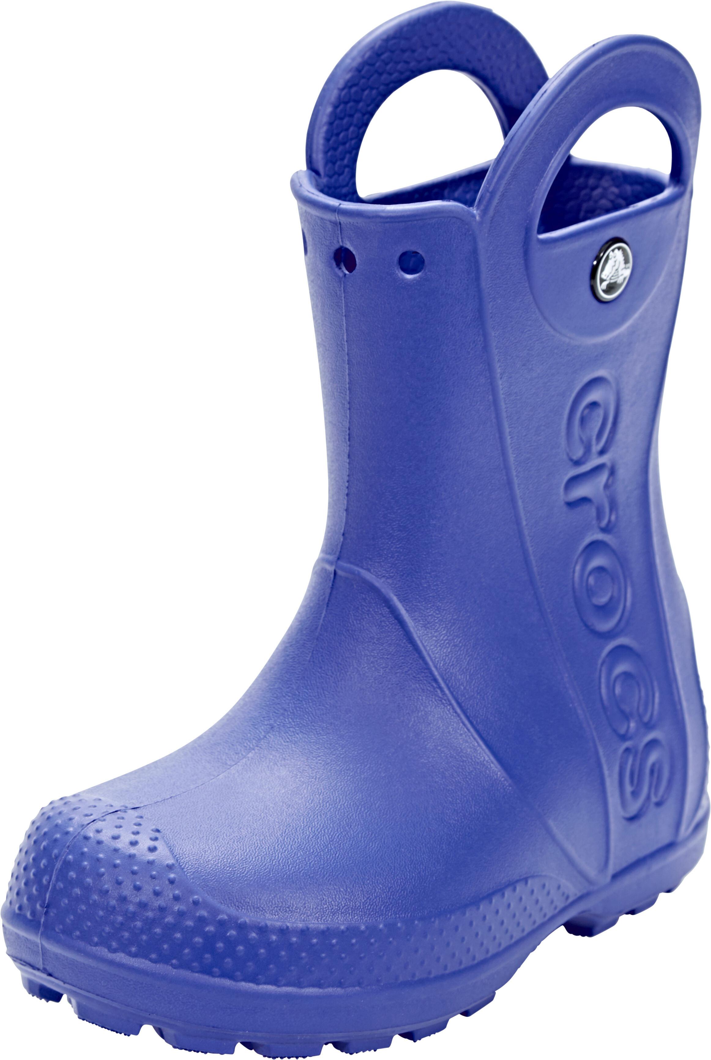 Crocs Handle It Gummistøvler Børn blå | Find outdoortøj, sko & udstyr på nettet | CAMPZ.dk